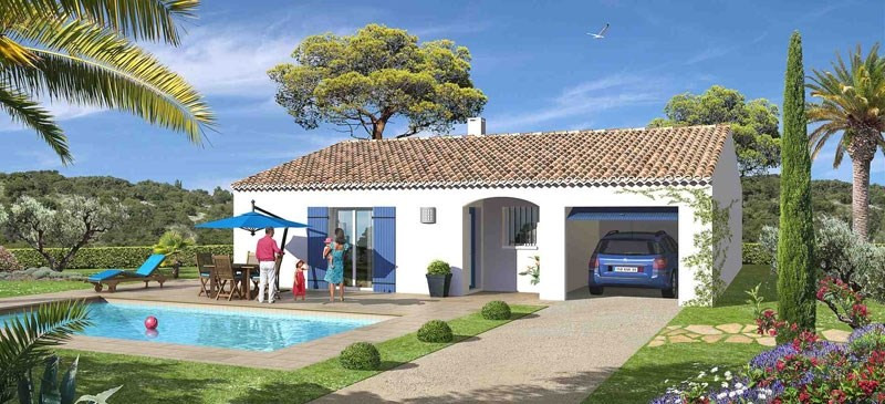 Maison  4 pièces + Terrain 1000 m² Cadenet par MAISONS AVENIR TRADITION