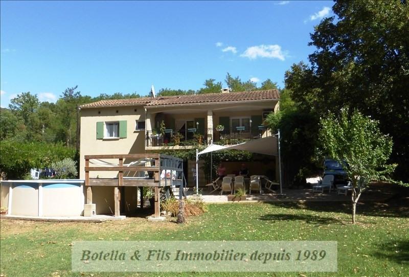 Vente maison / villa Goudargues 208000€ - Photo 1