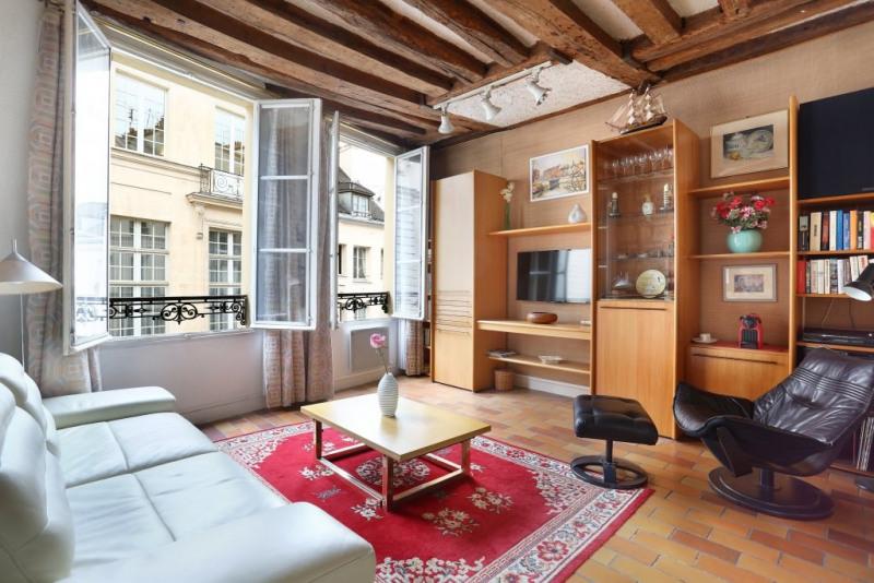 Vente de prestige appartement Paris 4ème 535000€ - Photo 2