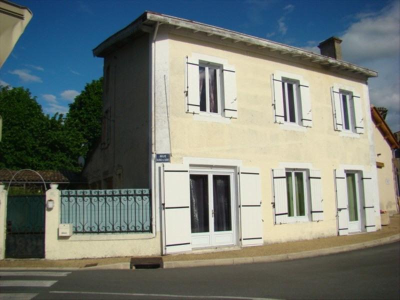 Vente maison / villa Montpon menesterol 126500€ - Photo 1