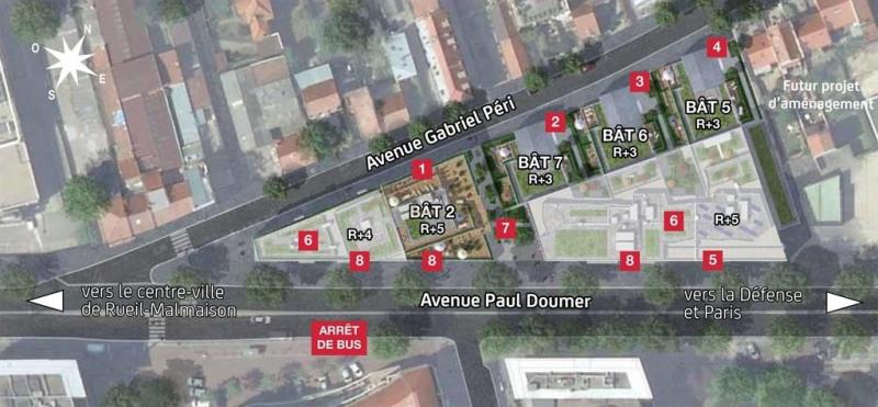 Sale apartment Rueil malmaison 540000€ - Picture 4