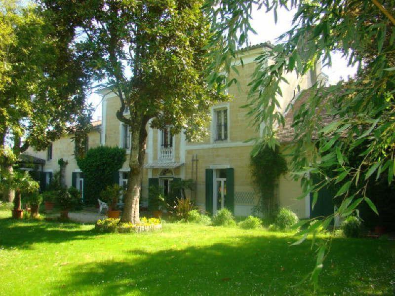Verkauf von luxusobjekt haus Montpon menesterol 505000€ - Fotografie 1