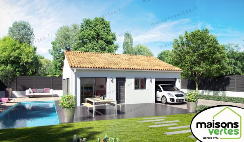 Maison  4 pièces + Terrain 236 m² Florensac par MAISONS VERTES DE L'AUDE - 34420 VILLENEUVE LES BEZIER
