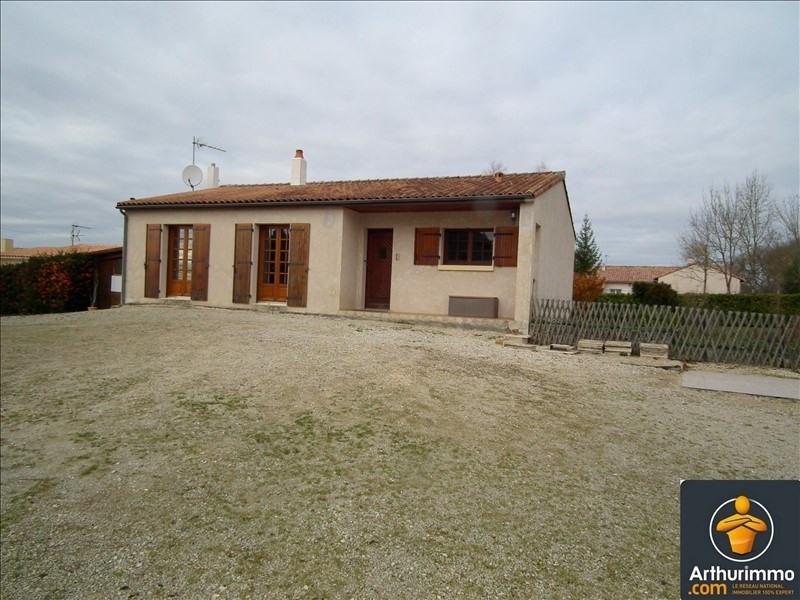Sale house / villa Matha 126735€ - Picture 1