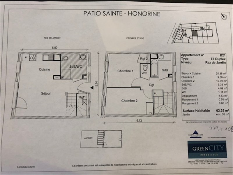 Location appartement Conflans ste honorine 885€ CC - Photo 2