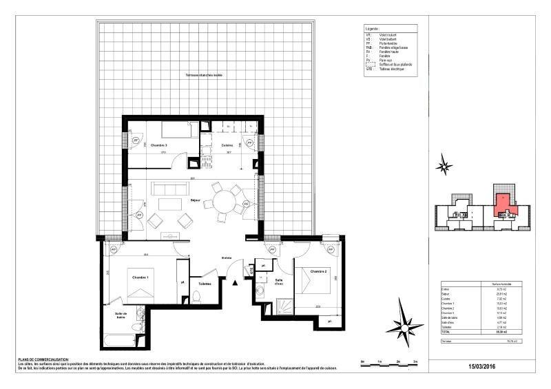 Revenda apartamento Sucy en brie 480000€ - Fotografia 1