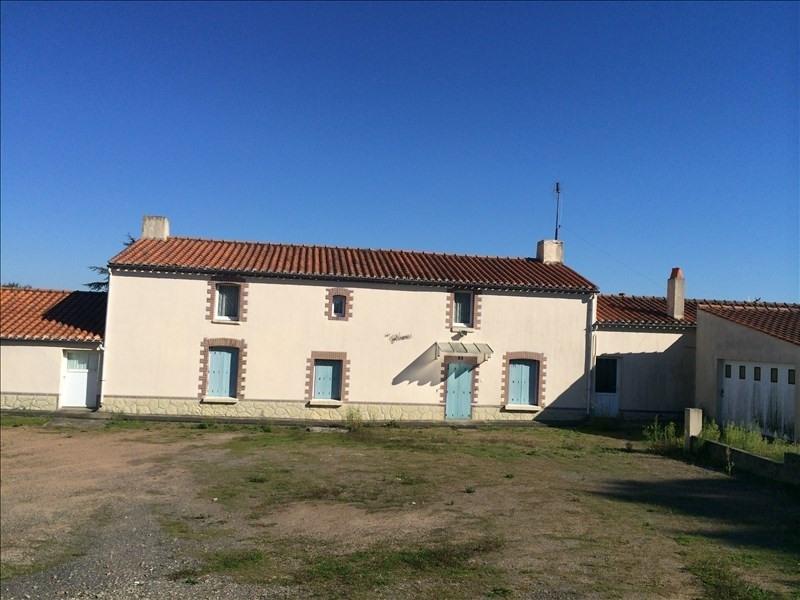 Sale house / villa St vincent sur jard 247500€ - Picture 1