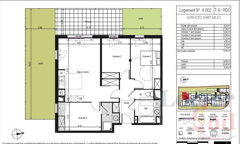 Deluxe sale apartment Lattes 405000€ - Picture 2