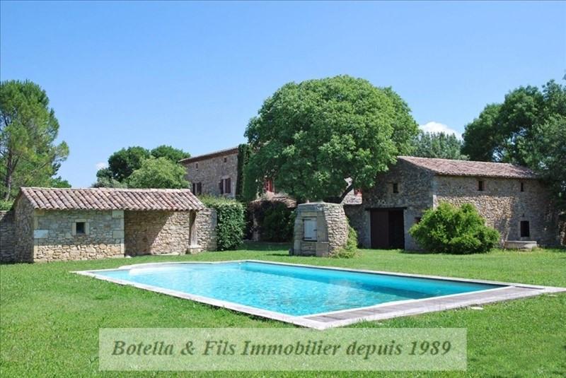 Vente de prestige maison / villa Barjac 699000€ - Photo 1