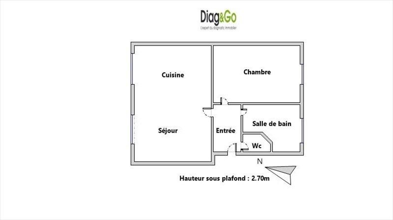 Sale apartment Paris 18ème 325000€ - Picture 7