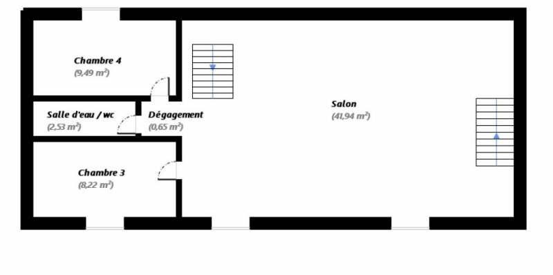Vente maison / villa Orry la ville 414000€ - Photo 9