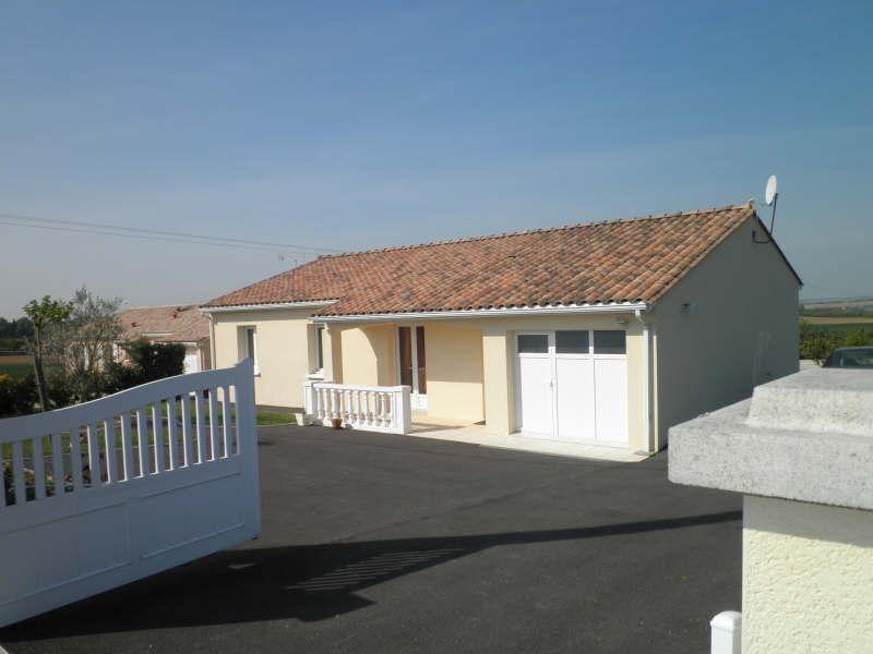 Location maison / villa Villejoubert 668€ CC - Photo 1