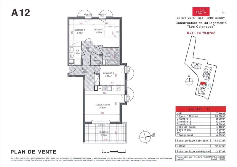 Vente de prestige appartement St aygulf 352 000€ - Photo 2