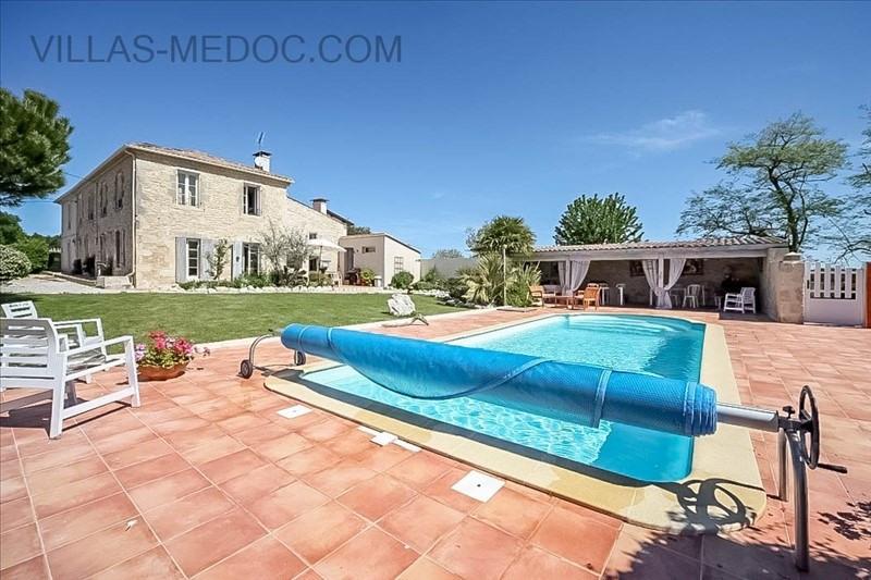 Vente de prestige maison / villa Saint germain d'esteuil 630000€ - Photo 1