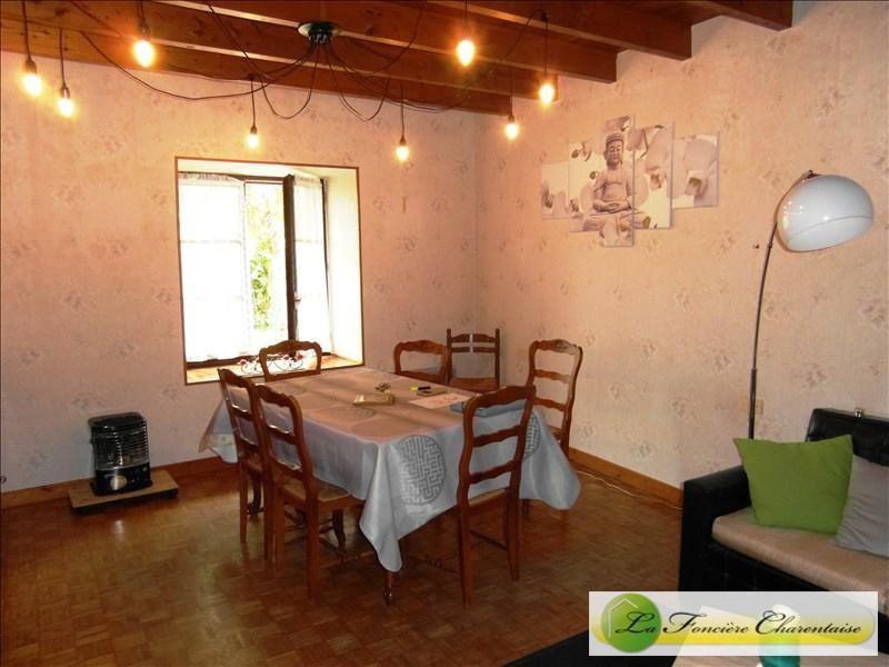 Vente maison / villa Ruffec 101500€ - Photo 7