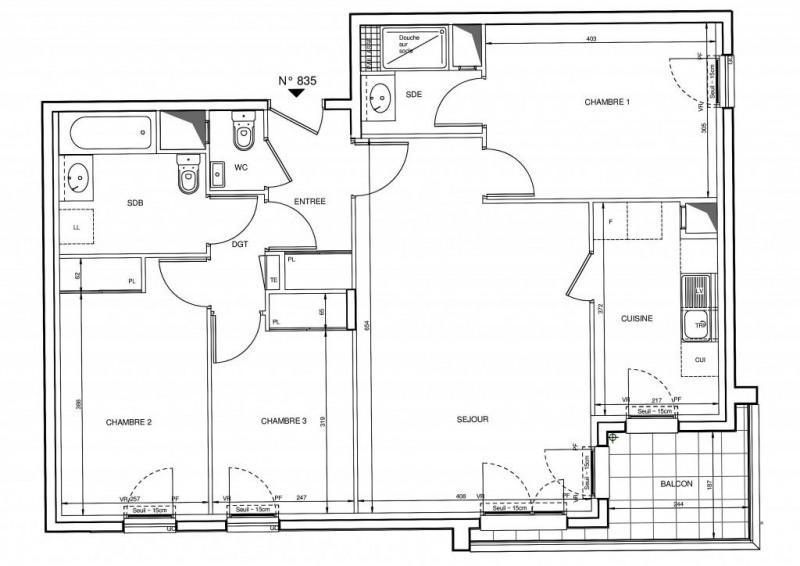 Vente appartement Rueil-malmaison 596000€ - Photo 2