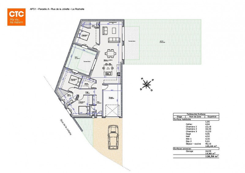Sale site La rochelle 175000€ - Picture 3