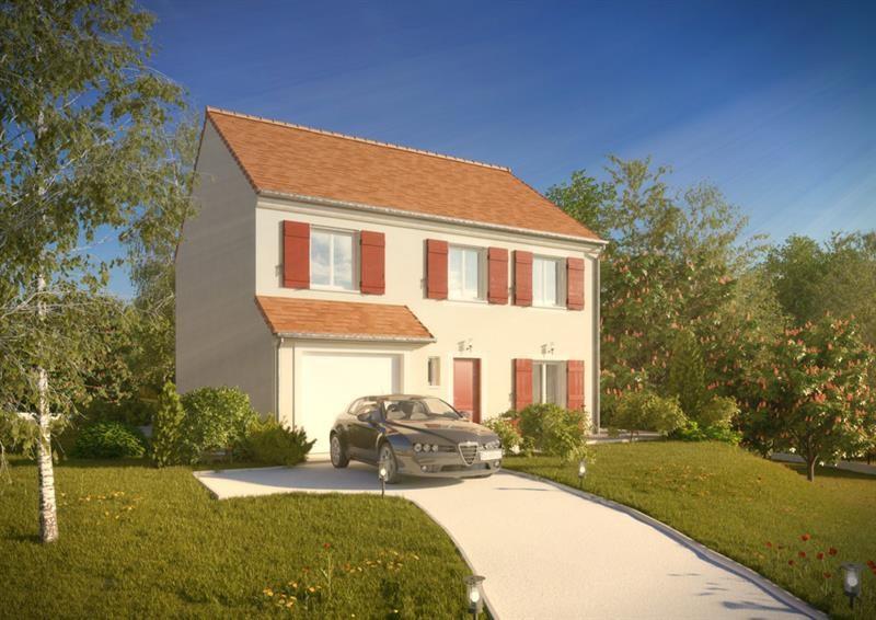 """Modèle de maison  """"Grand Nacré 4.128 GI"""" à partir de 5 pièces Yvelines par A&A CONSEIL"""