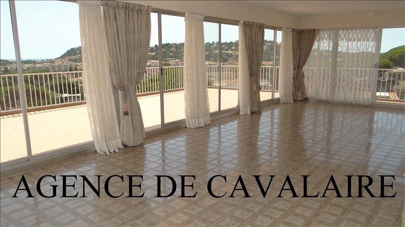 Deluxe sale apartment Cavalaire 580000€ - Picture 1