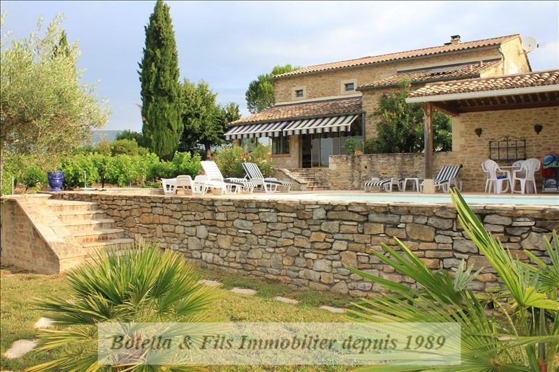 Verkauf von luxusobjekt haus Barjac 695000€ - Fotografie 1