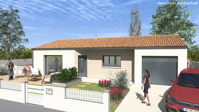 """Modèle de maison  """"Originale et lumineuse"""" à partir de 4 pièces Charente-Maritime par MAISONS DU MARAIS - AGENCE DE NIORT"""