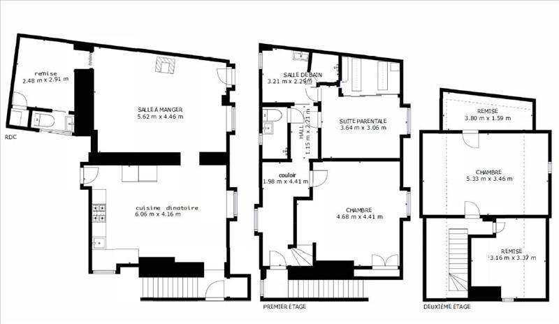 Vente maison / villa Rambouillet 217000€ - Photo 4