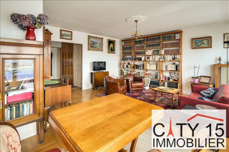 Vente de prestige appartement Paris 15ème 1 070 000€ - Photo 2