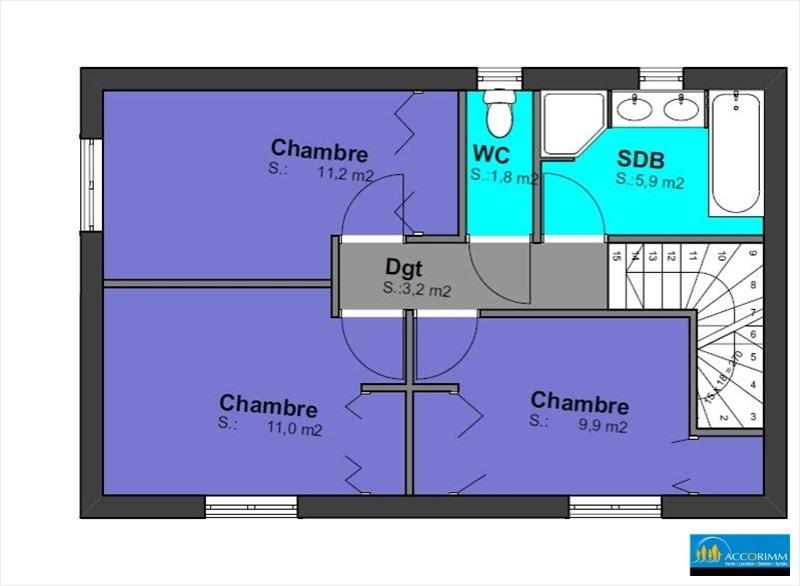 Vente maison / villa St pierre de chandieu 460000€ - Photo 4