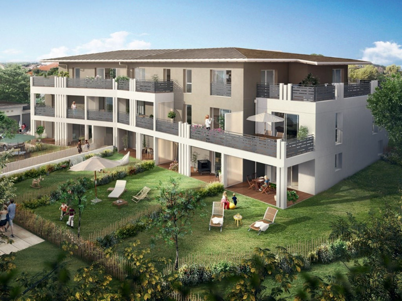Villa n o programme immobilier neuf anglet propos for Mobilier anglet