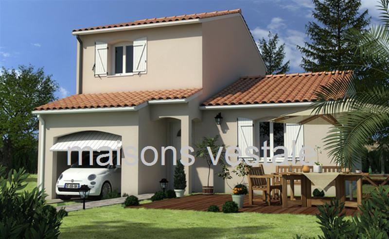 Maison  4 pièces + Terrain 400 m² Grillon (84600) par MAISONS VESTALE 26