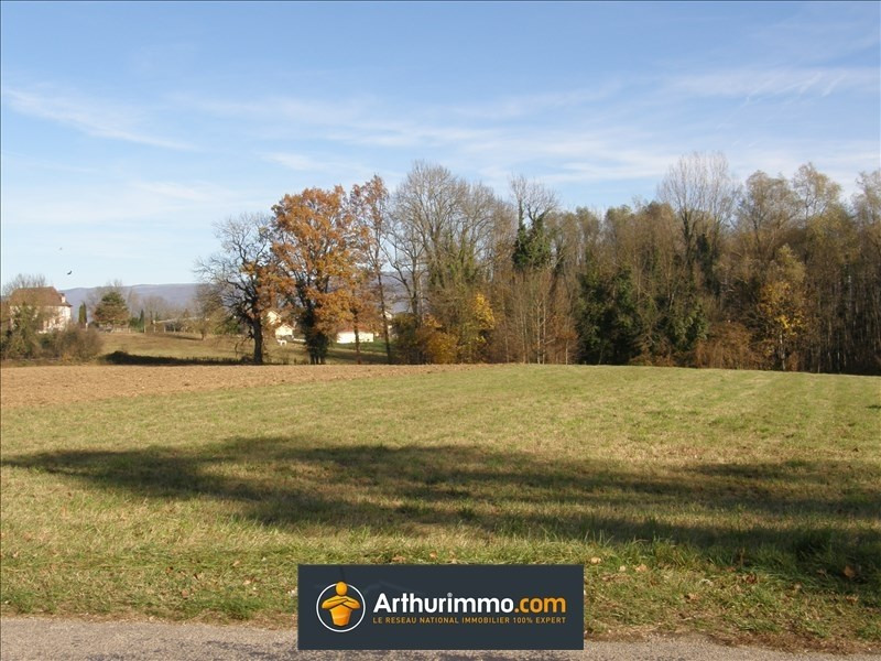Vente terrain Morestel 72 000€ - Photo 1