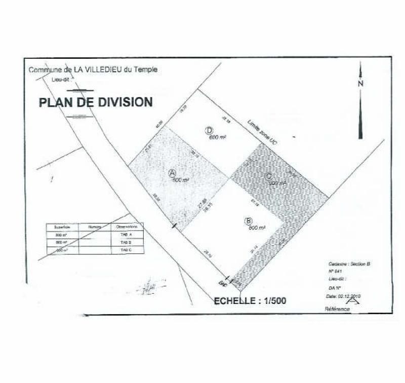 Verkoop  stukken grond Montauban 50000€ - Foto 3