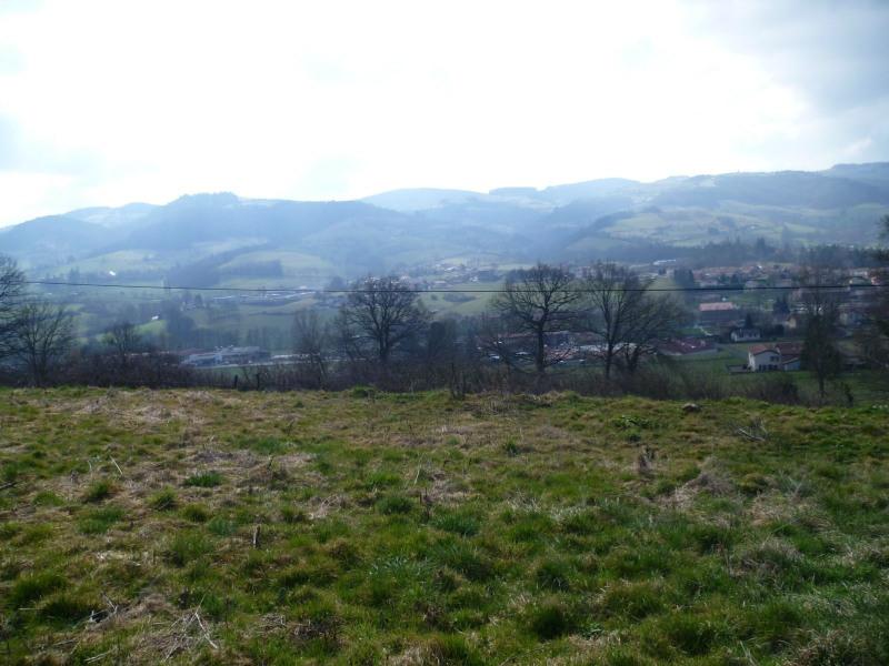 Vente terrain Ste foy l argentiere 70000€ - Photo 1