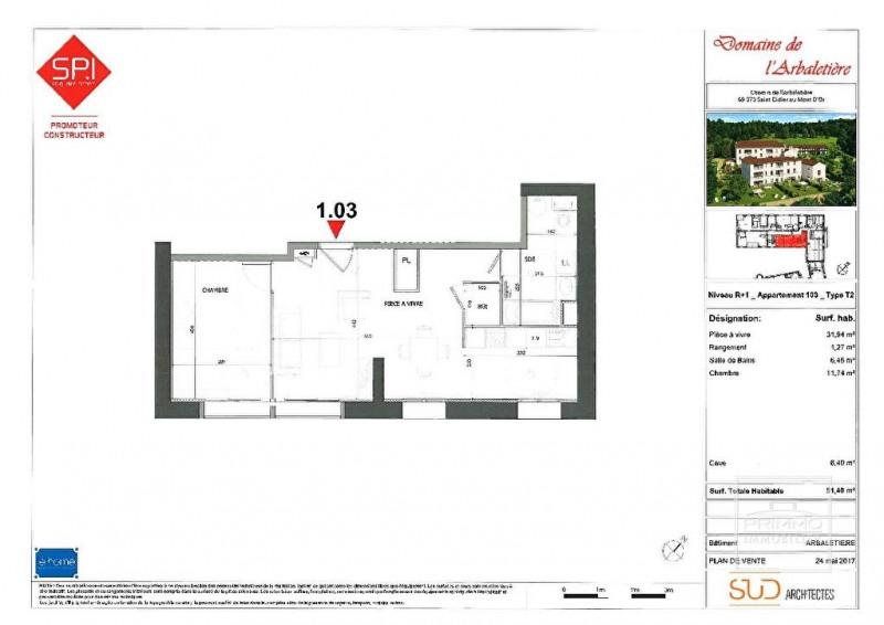 Sale apartment Lyon 9ème 265000€ - Picture 2