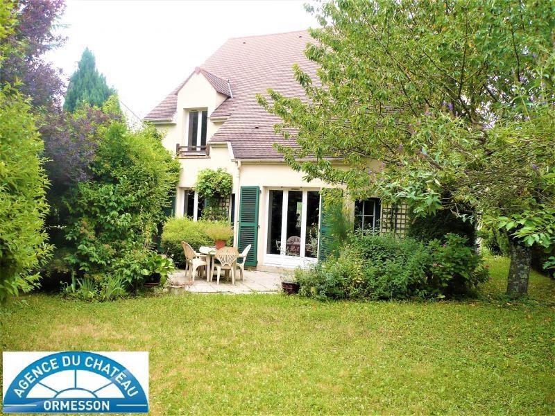 Vente maison / villa La queue en brie 452000€ - Photo 1
