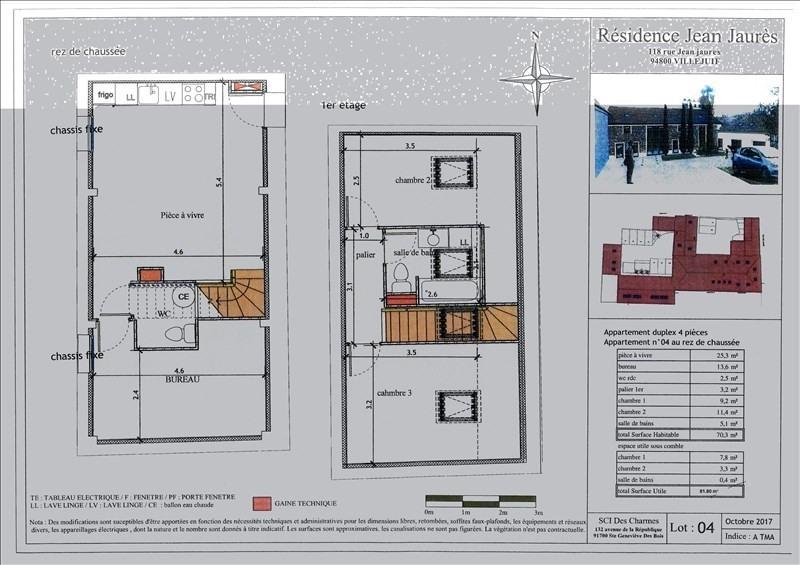 Investment property house / villa Villejuif 395000€ - Picture 1