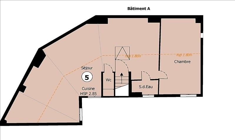 Sale apartment Villejuif 162500€ - Picture 10