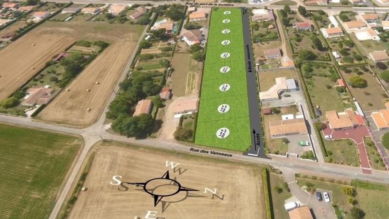 Vente terrain Talmont st hilaire 86000€ - Photo 3