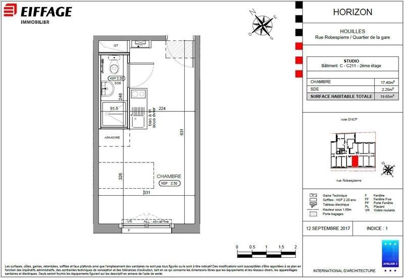 Produit d'investissement appartement Houilles 145336€ - Photo 2