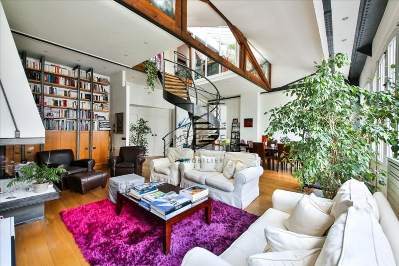 Vente de prestige loft/atelier/surface Paris 17ème 1750000€ - Photo 4