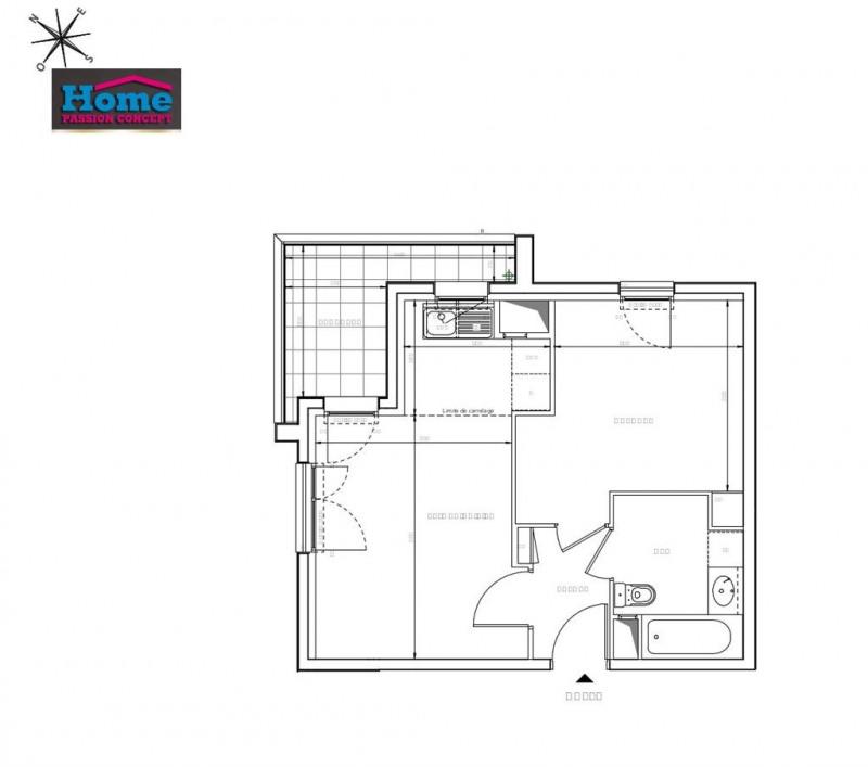 Vente appartement Rueil malmaison 291000€ - Photo 2