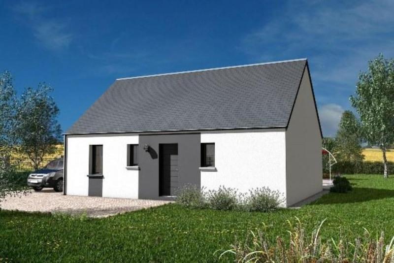 Maison  3 pièces + Terrain 1021 m² Louans par maisons PRIMEA