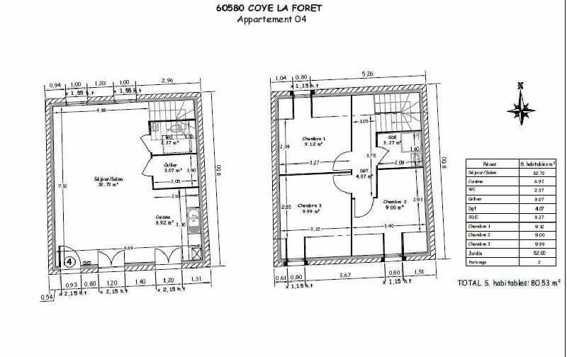 Vente maison / villa Coye la foret 314067€ - Photo 3