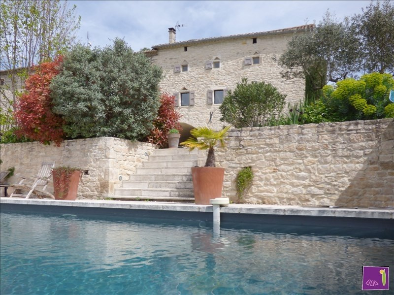 Verkoop van prestige  huis Barjac 495000€ - Foto 1