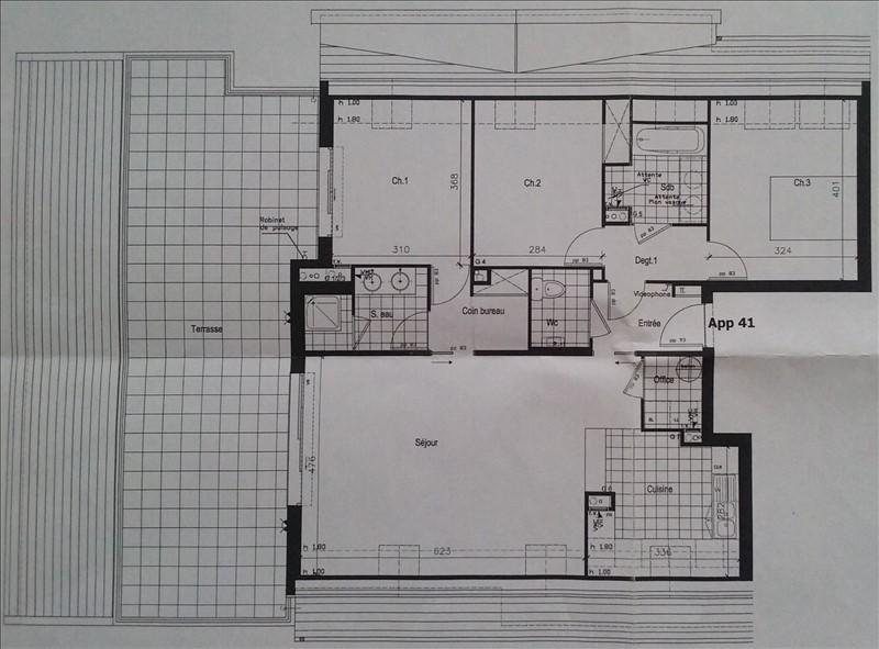 Vente appartement Nanterre 695000€ - Photo 3