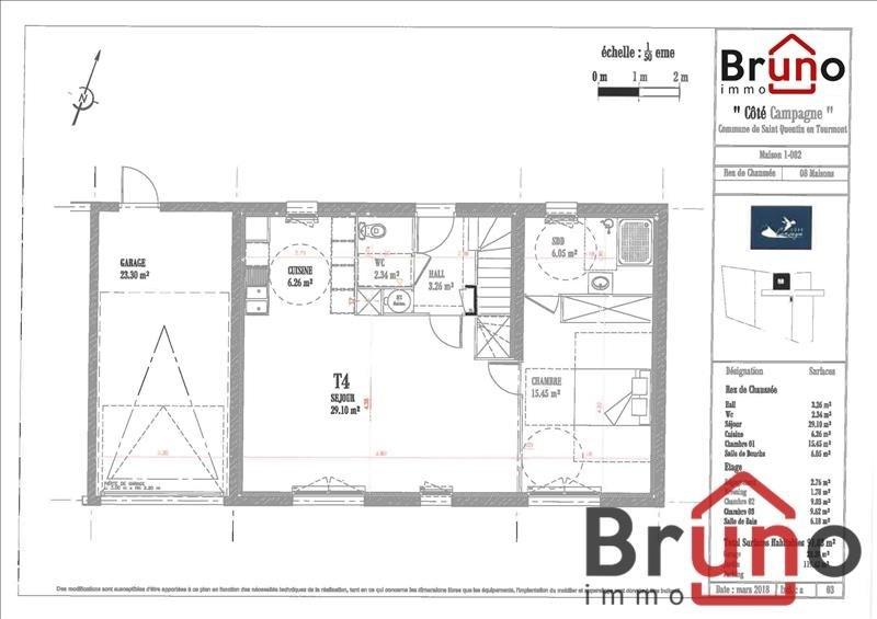 Verkoop  huis St quentin en tourmont 310000€ - Foto 5