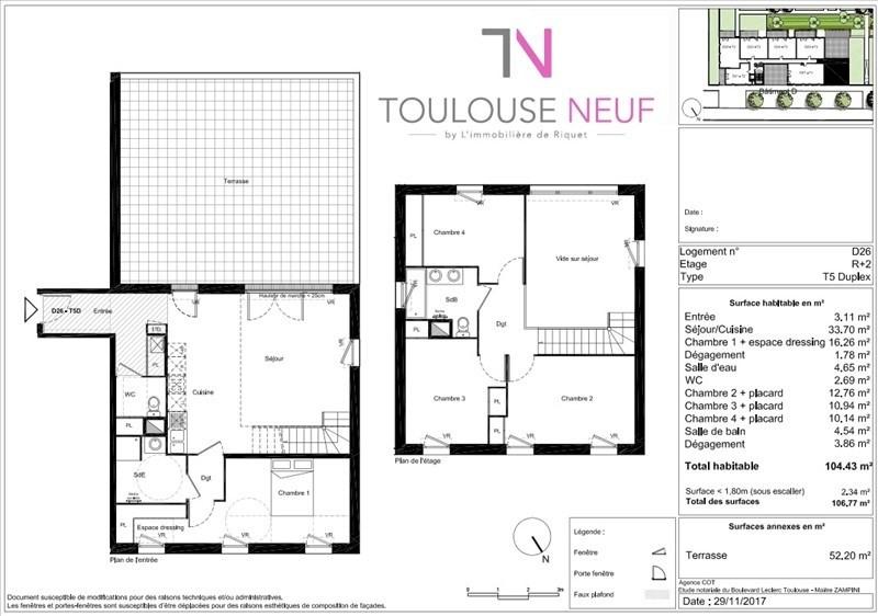 Vente appartement Toulouse 387500€ - Photo 5