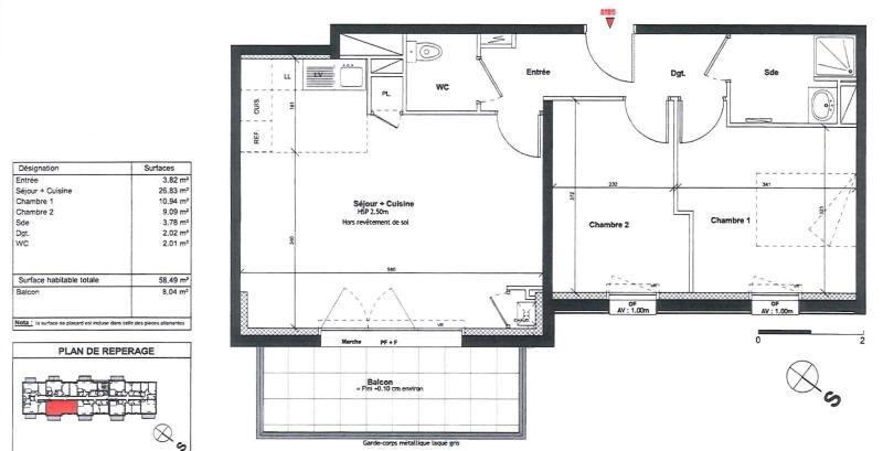 Location appartement Pornic 699€ CC - Photo 2