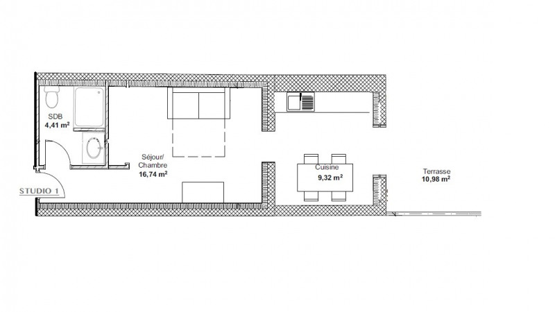 Location appartement Vinon-sur-verdon 575€ CC - Photo 1