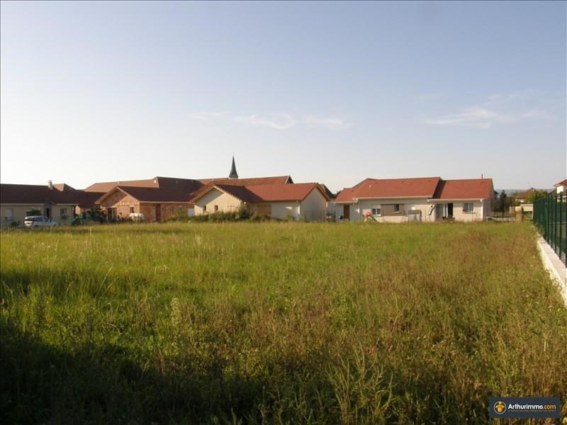 Vente terrain Morestel 60500€ - Photo 5